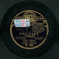 Katiuska o La mujer rusa  [Grabación sonora]  / [texto] E. G. del Castillo, M. Alonso ; y [música] P. Sorozabal