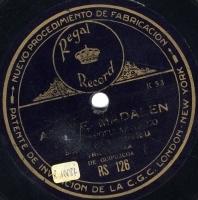 Andre Madalen  [Grabación sonora]  ; ariñ - ariñ : bailable popular vasco  / ejecutado por elementos de la Triki-Trixa de Guipúzcoa