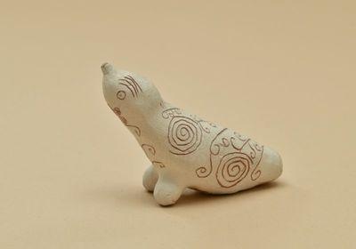 Molinukas švilpukas ruonio pavidalo vaikų žaislas