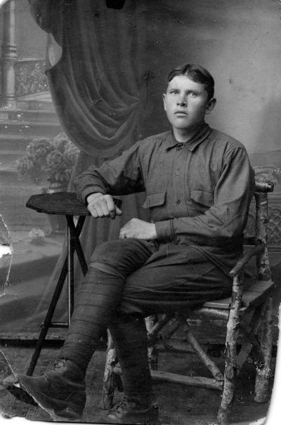 """Nuotrauka """"Lietuvos savanoris Konstantinas Gagilas (žuvo 1920 m.)"""""""