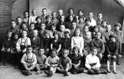 """Nuotrauka """"Vabalninko žydų vaikai"""""""