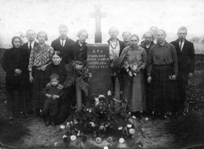 """Nuotrauka """"Kryžius kapinėse"""""""