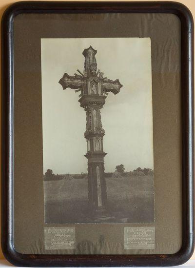 """Nuotrauka """"Kryžius Klovinių kaime, Utenos valščiuje"""""""