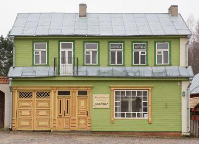 Gyvenamasis - prekybinis namas iš Kauno
