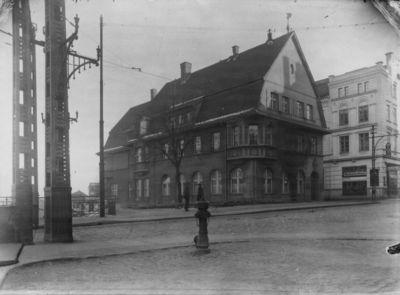 Klaipėda. Miesto taupomosios kasos pastatas Fr. Wilhelmo (dabar Tiltų) gatvėje