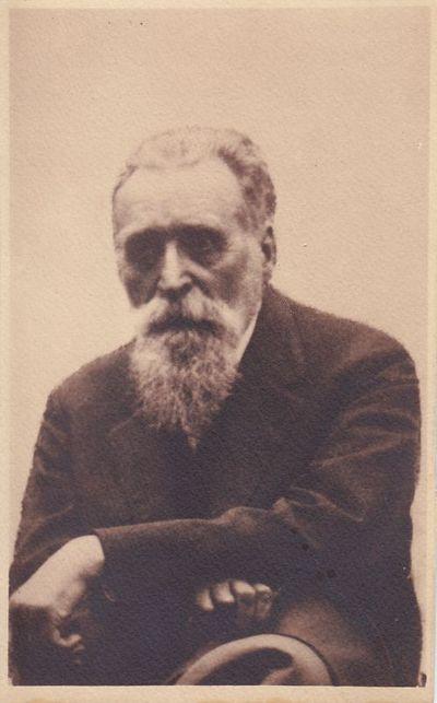 Fotografija. Tautinio judėjimo veikėjas, mokslininkas, gydytojas J. Basanavičius