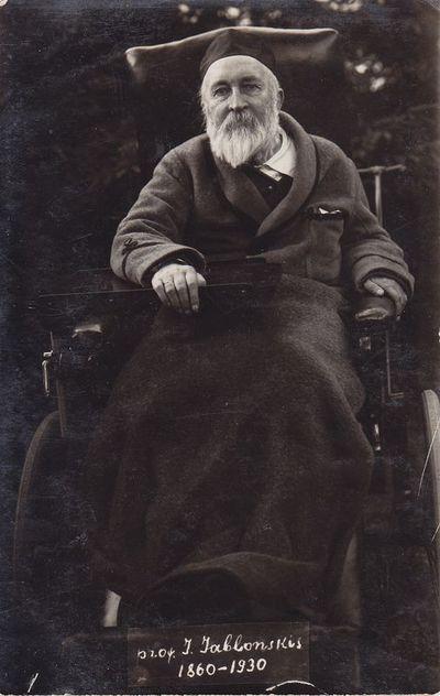 Fotonuotrauka. Kalbininkas prof. J. Jablonskis