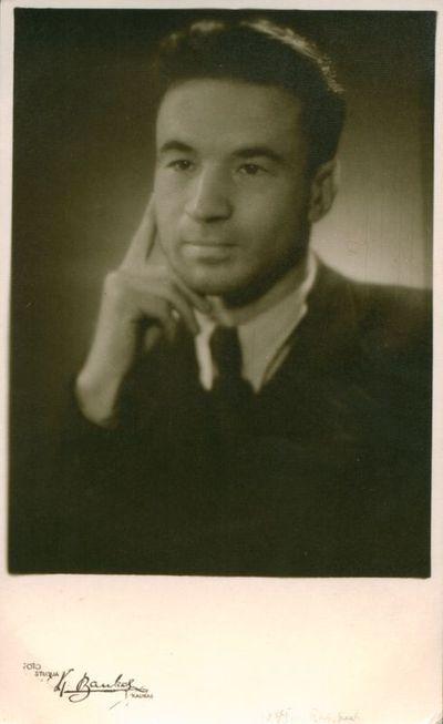 Nuotrauka. Rašytojas J. Būtėnas