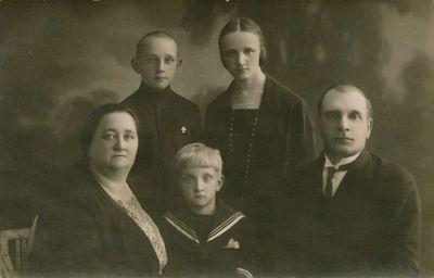 Nuotrauka. Greimų šeima