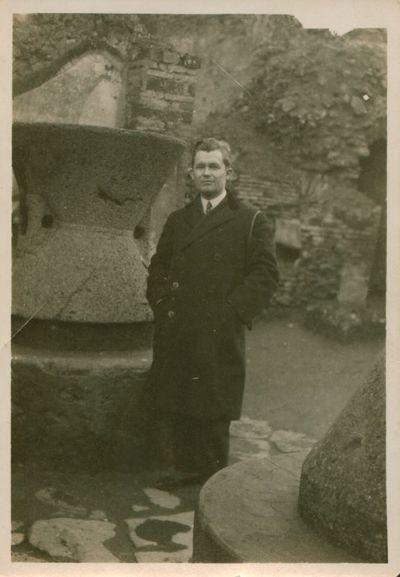 Fotonuotrauka. Žurnalistas V. Gustainis