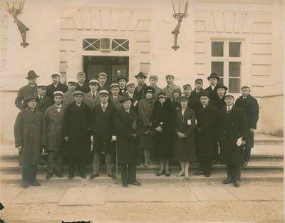 Fotonuotrauka. Pabaltijo šalių studentų atstovų susitikimo dalyviai