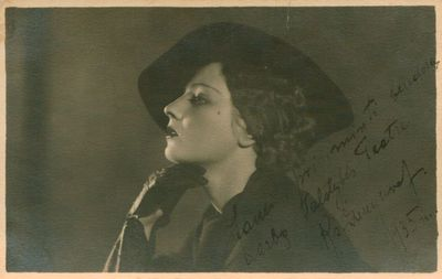 Fotonuotrauka. Aktorė K. Dauguvietytė