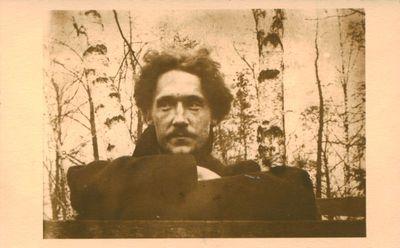 Fotonuotrauka. Kritikas, rašytojas J. A. Herbačiauskas