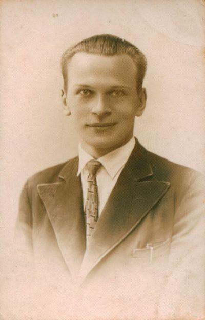 Fotonuotrauka. Rašytojas, aktorius K. Inčiūra