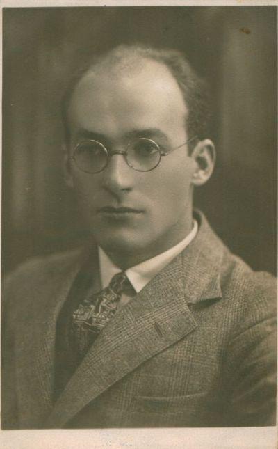 Nuotrauka. Poetas A. Rimydis