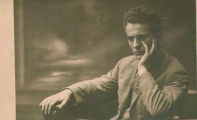 Nuotrauka. Kompozitorius, pianistas B. Dvarionas