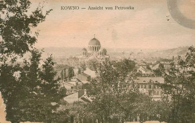 Atvirukas. KOWNO – Ausicht von Petrowka