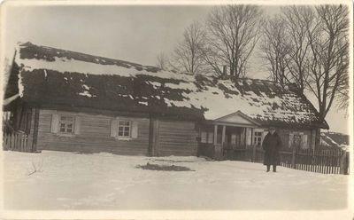 Antano Žukausko-Vienuolio gimtasis namas Ažuožeriuose