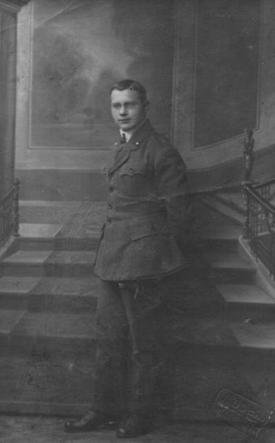 Leitenantas Juozas Gineitis (Krauza)  -  Klaipėdos krašto sukilimo dalyvis