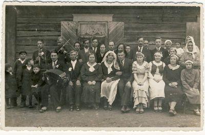 Vestuvės Vaičiuliškių kaime