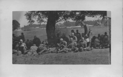 Lietuvos kariuomenės kariai vasaros stovykloje