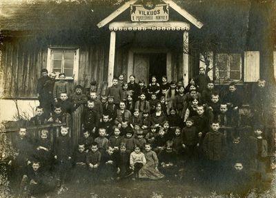 Vilkijos pirma pradedamoji mokykla 1921–1922 m.