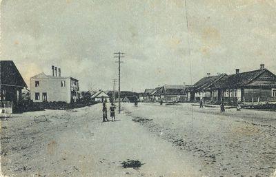 I-ojo Alytaus gatvės vaizdas