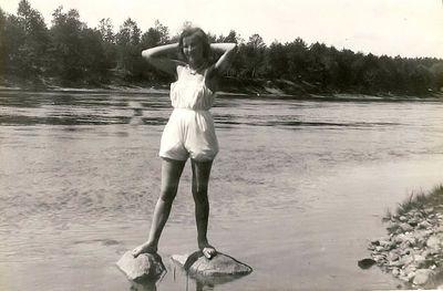 Kazė Vaitkienė. Seredžius, 1933 metai