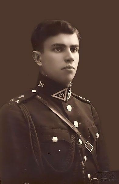 Lietuvos kariuomenes majoras Vladas Vaiktus. Kaunas, 1934 metai
