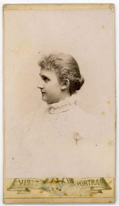 Augustino Paškevičiaus dukros Liucijos (1881–1957) mokslo draugė iš Varšuvos kilmingųjų merginų instituto. Varšuva, ~1897 metai