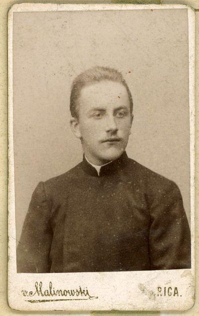 Nežinomo vyro portretas, ~1900 metai