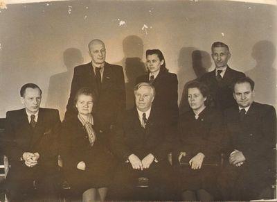 Lietuvos mokytojų delegacija 1949 m. Maskvoje