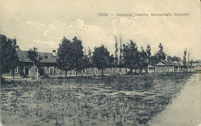 Olita – Infanterie Kaserne, Mannschafts Baracken. Alytus – Pėstininkų kareivinės, kareivių barakai