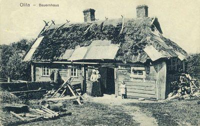 Olita – Bauernhaus. Alytus – valstiečio namas
