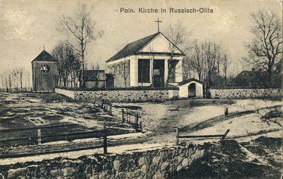 Poln. Kirche in Russisch-Olita. Lenkų bažnyčia Rusijos pusės Alytuje