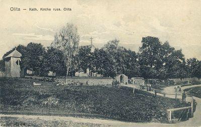 Olita – Kath. Kirche russ. Olita. Alytus – katalikų bažnyčia Rusijos pusės Alytuje