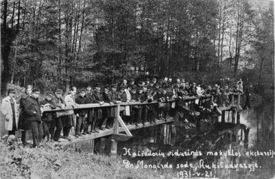 """Nuotrauka """"Kaišiadorių pradžios mokyklos mokinių ekskursija Aukštadvaryje"""""""