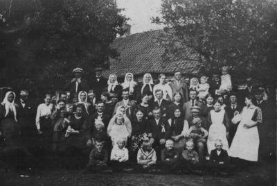 Vestuvės Klaipėdos apskrities Dieglių kaime