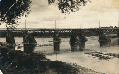 Tiltas per Nemuną ties Alytum