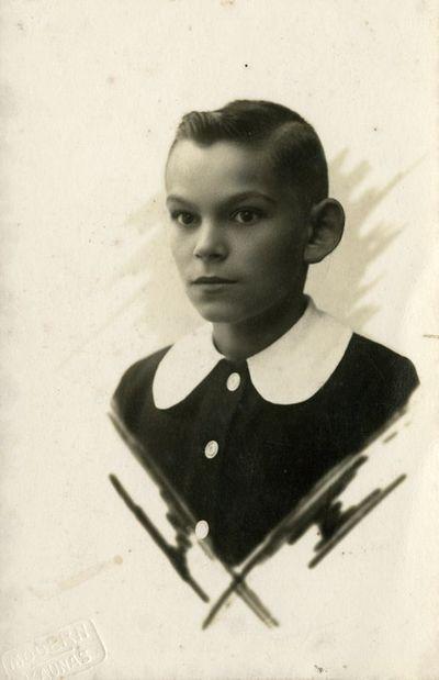 Berniuko fotoportretas