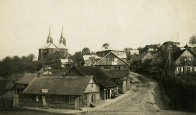 Vilkija. Bažnyčios gatvė