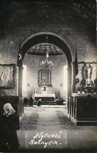 I-ojo Alytaus Šv. Liudviko bažnyčios vidus