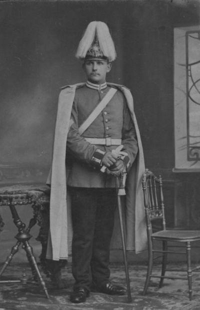 Prūsijos karališkojo Geležinio pulko kareivis