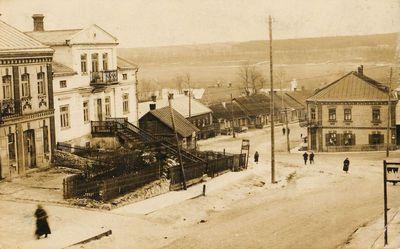 Vilniaus ir Nemuno gatvių namai