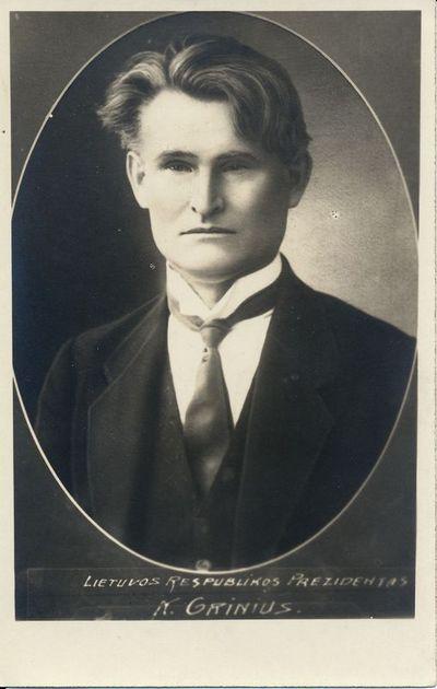Lietuvos Respublikos Prezidentas – Kazys Grinius