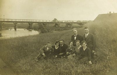 """Nuotrauka """"Tiltas per Nemunėlio upę ties Kvetkų miesteliu"""""""