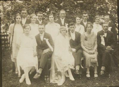 Grupinė nuotrauka. Vestuvės
