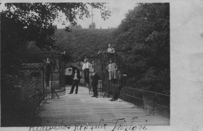 Klaipėda. Prie Kopgalio tvirtovės vartų