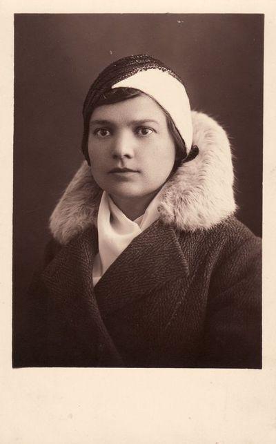 Bronės Buivydaitės portretas