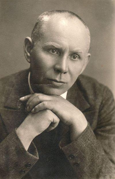 Skulptoriaus Juozo Zikaro portretas